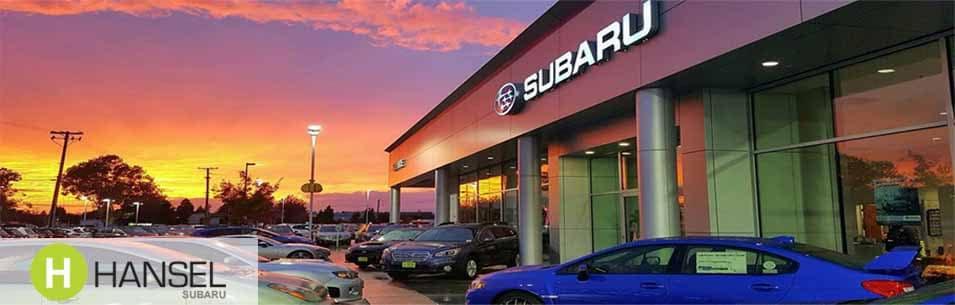 santa rosa new subaru used car dealership hansel subaru serving sebastopol petaluma ca