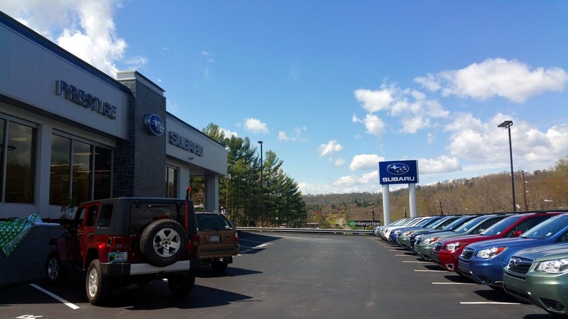 new subaru used car dealer in asheville nc prestige subaru serving hendersonville nc. Black Bedroom Furniture Sets. Home Design Ideas