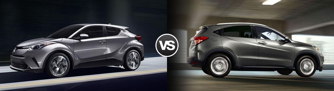 2018 Toyota C-HR vs Honda HR-V