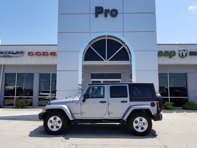 Used 2013 Jeep Wrangler Unlimited Sahara SUV in Plattsmouth, NE