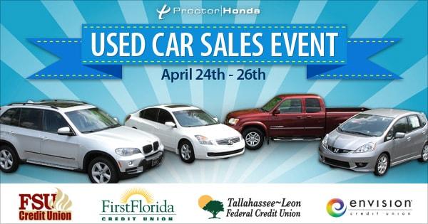 Proctor Honda Used Car Inventory
