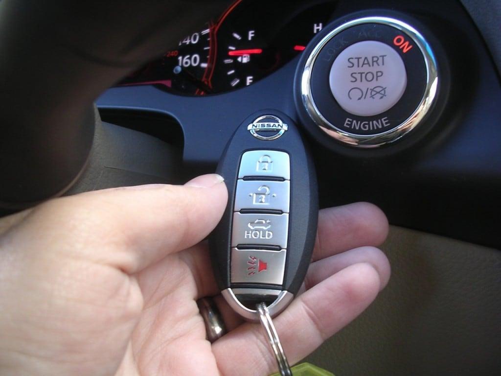 Can A Push Button Start Car Be Stolen