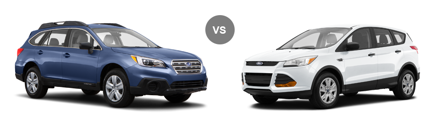 2015 ford escape vs subaru outback near tallahassee panama city fl. Black Bedroom Furniture Sets. Home Design Ideas