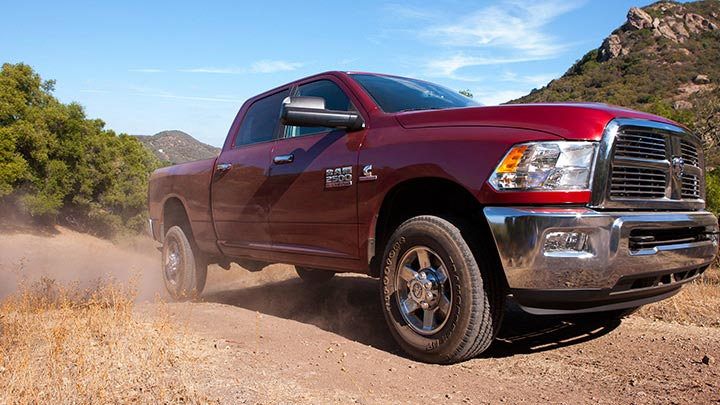 power and comfort combined the 2014 ram 2500 - Dodge Ram 2500 2014 Red