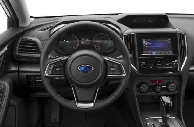 2018 Subaru Crosstrek Dashboard