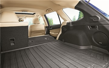 2017 Subaru Outback One-Touch Folding Rear Seats