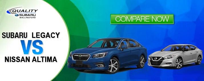 Subaru Legacy vs Nissan Altima