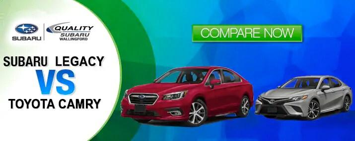 Subaru Legacy vs Toyota Camry