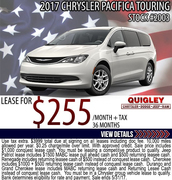 chrysler dodge jeep ram lease deals quigley chrysler dodge jeep ram. Cars Review. Best American Auto & Cars Review