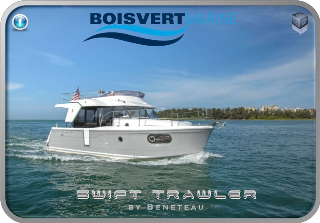 2017 BENETEAU SWIFT TRAWLER 30 -