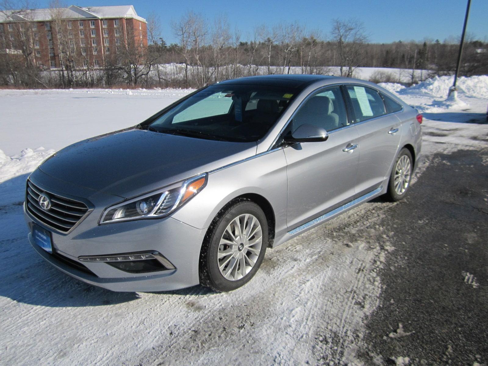 Certified Pre-Owned 2015 Hyundai Sonata