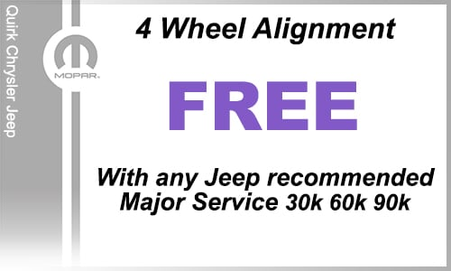 Jeep dealer service coupons
