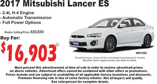 Quirk Mitsubishi | New Mitsubishi dealership in Bangor, ME 04401