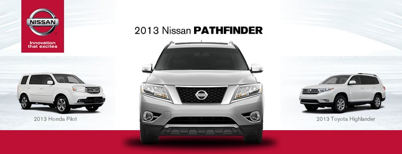 Related to 2014 Nissan Pathfinder vs. 2014 Toyota Highlander: Compare