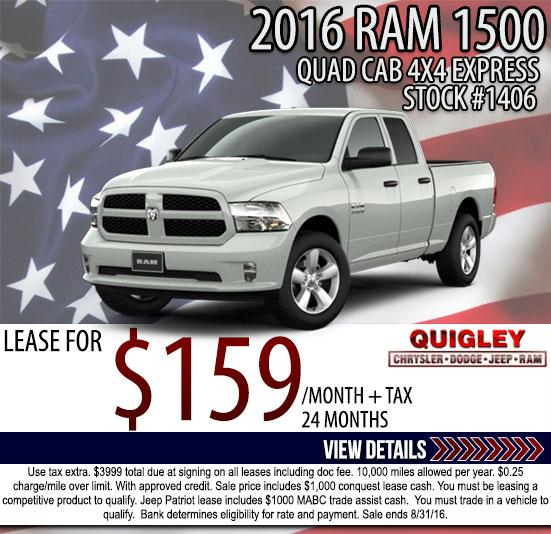 new car lease deals quigley chrysler dodge jeep ram. Cars Review. Best American Auto & Cars Review