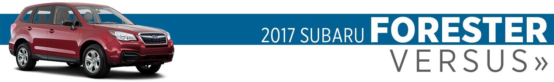 2017 Subaru Forester Model Comparisons in Auburn, WA