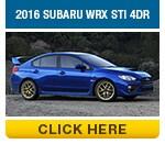 Click to compare the 2016 Subaru WRX & 2015 Subaru WRX STI Models in Auburn, CA