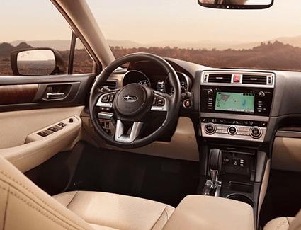 2017 Subaru Outback's Interior
