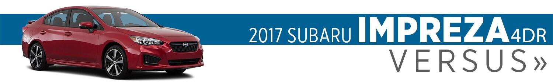 2017 Subaru Impreza 4-Door Model Comparisons in Auburn, WA