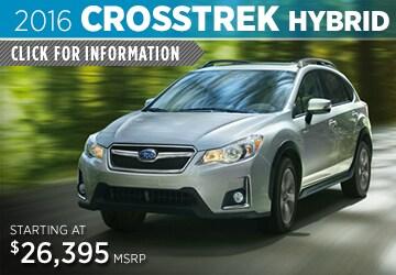 Click to View The 2016 Subaru Crosstrek Hybrid Model in Auburn, WA
