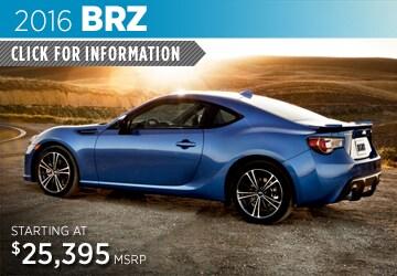Click to View 2016 Subaru BRZ Model Details in Auburn, WA