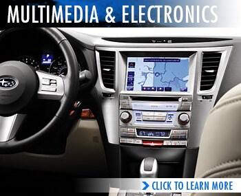 Rairdon's Subaru Multimedia & Electronics Specifications