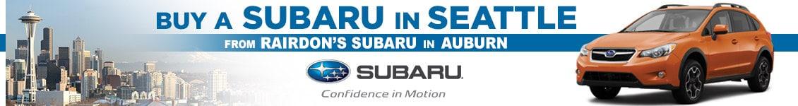 Seattle  Subaru Dealership, The REAL PRICE Dealer