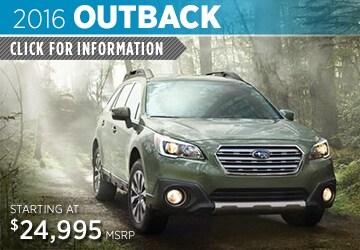 Click to View 2016 Subaru Outback Model Details in Auburn, WA