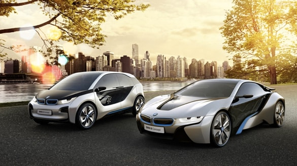 Bmw i8 Bmw i3 Both The Bmw i8 And The Bmw i3