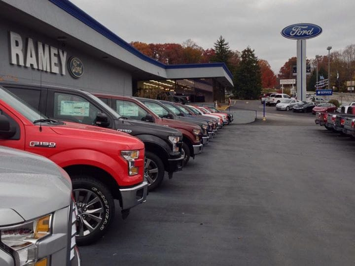 Ramey ford princeton new lincoln ford dealership in for Ramey motors princeton wv