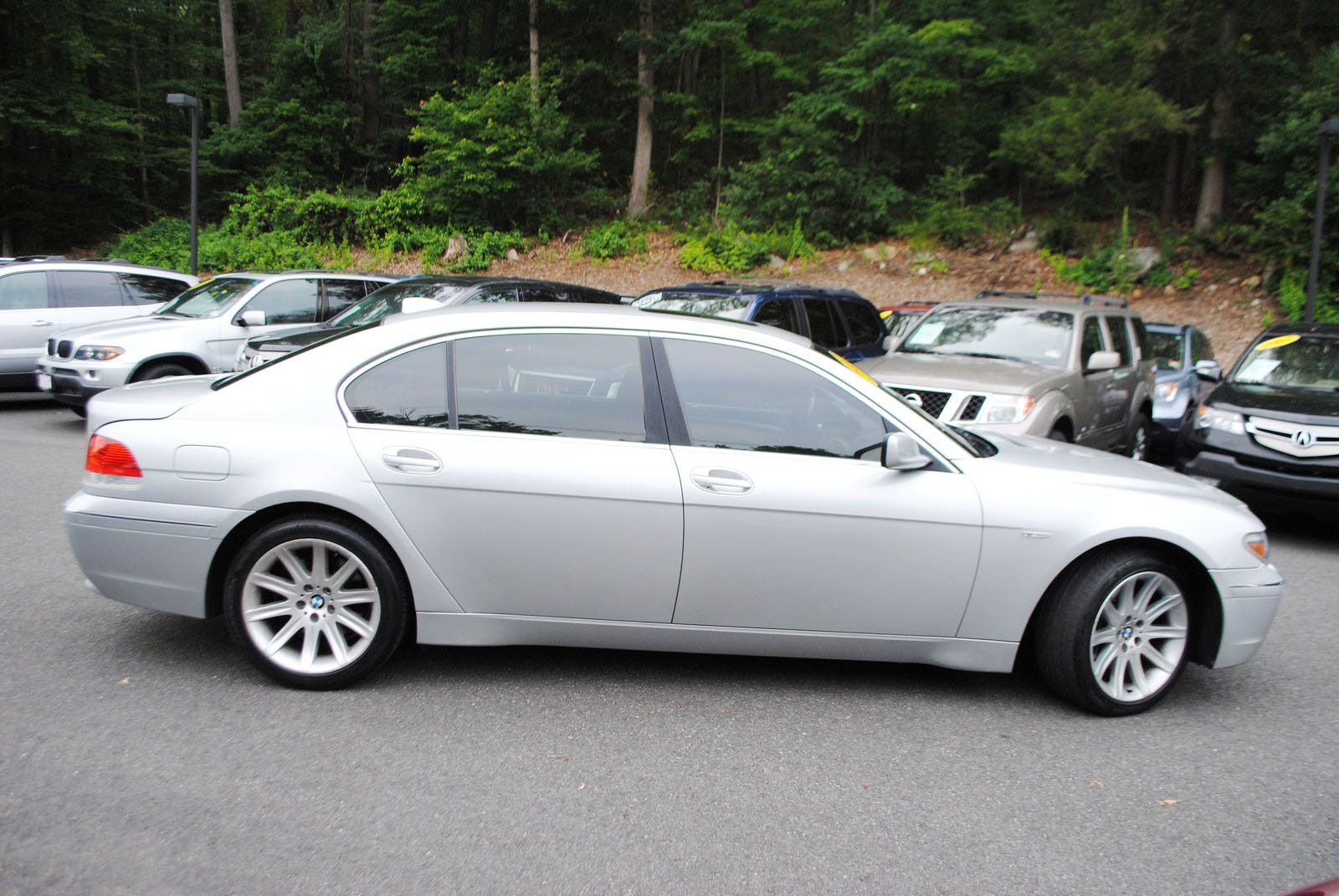 Used 2004 Bmw 745li For Sale