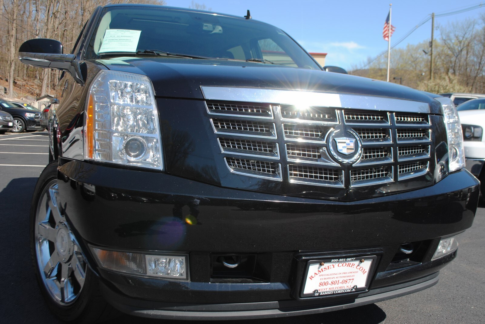 used 2008 cadillac escalade ext for sale west milford nj. Black Bedroom Furniture Sets. Home Design Ideas