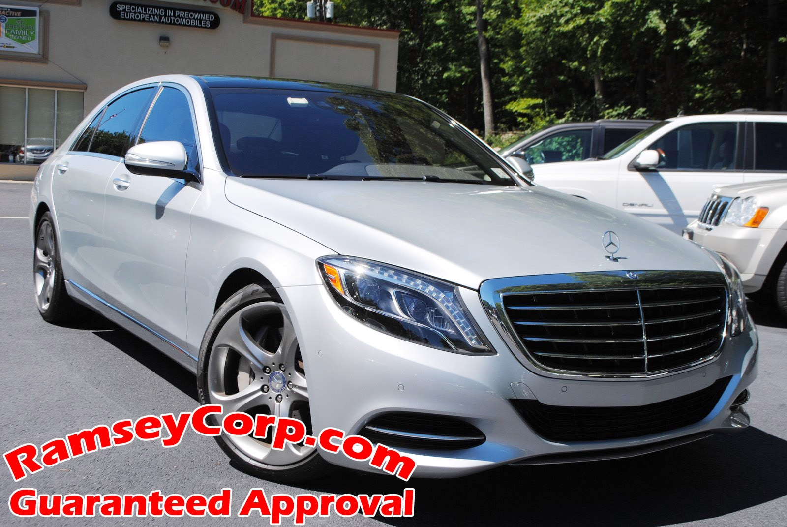 2014 Mercedes-Benz S-Class S550 4MATIC  Sedan
