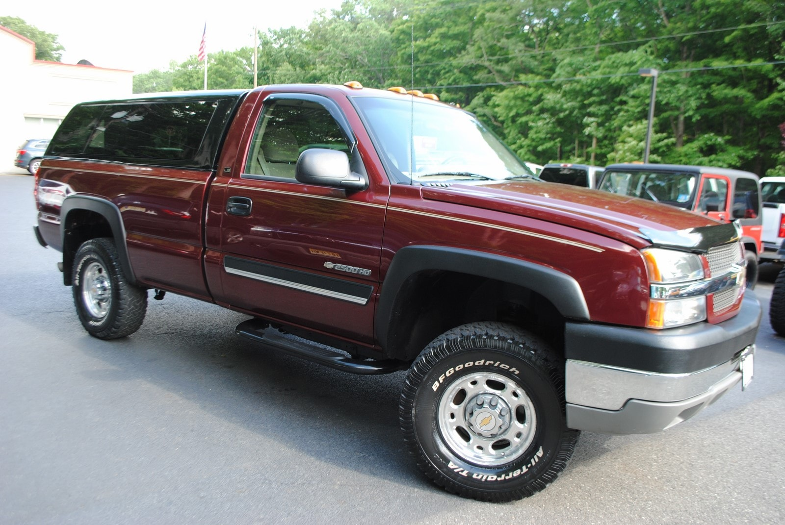 used 2003 chevrolet silverado 2500hd for sale west milford nj. Black Bedroom Furniture Sets. Home Design Ideas