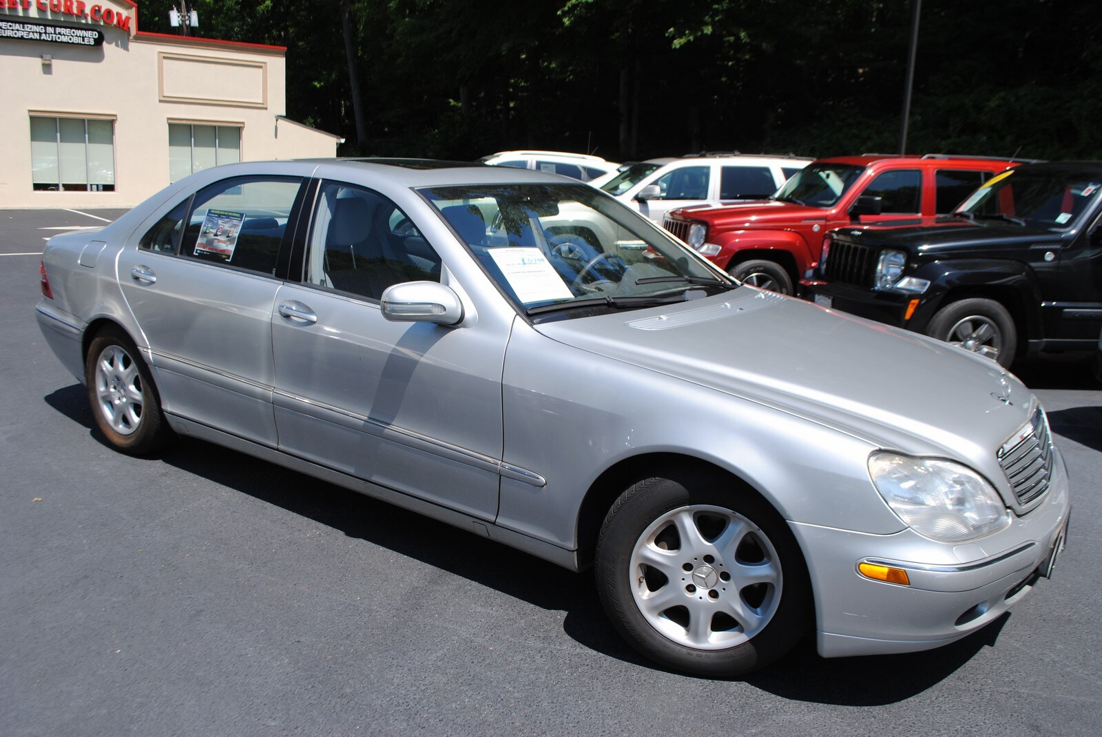 Used 2002 mercedes benz s class for sale west milford nj for Mercedes benz 2002 s500 for sale
