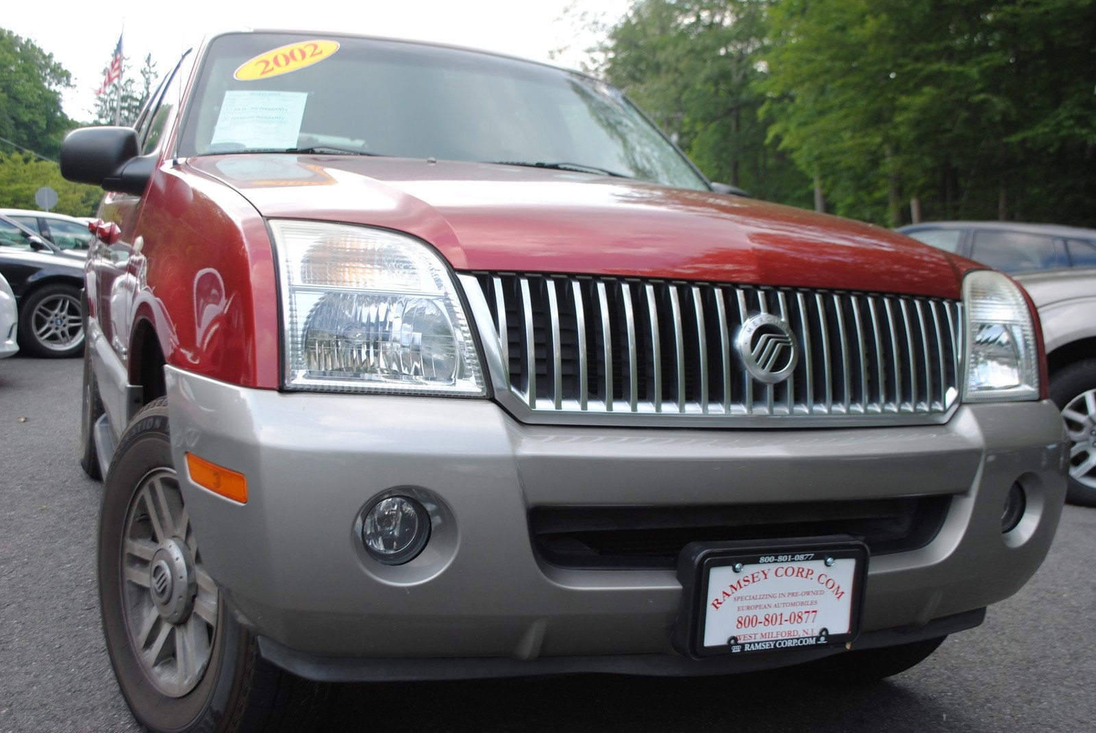 Used 2002 Mercury Mountaineer For Sale West Milford Nj