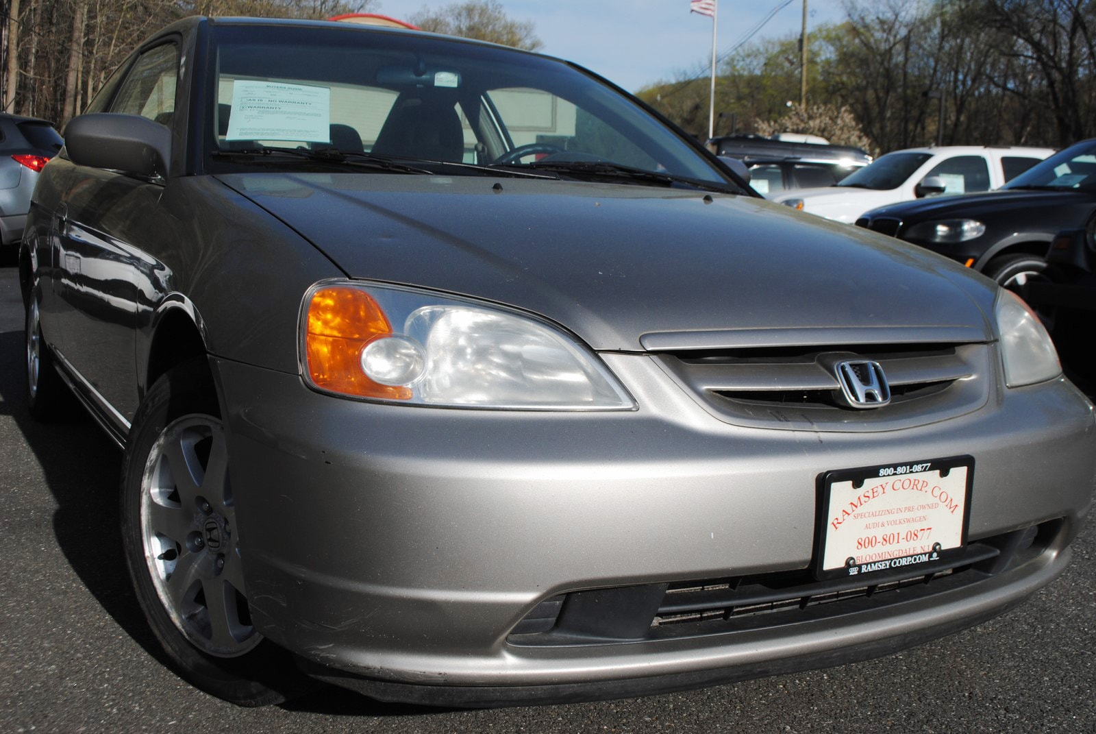 used 2003 honda civic for sale west milford nj. Black Bedroom Furniture Sets. Home Design Ideas