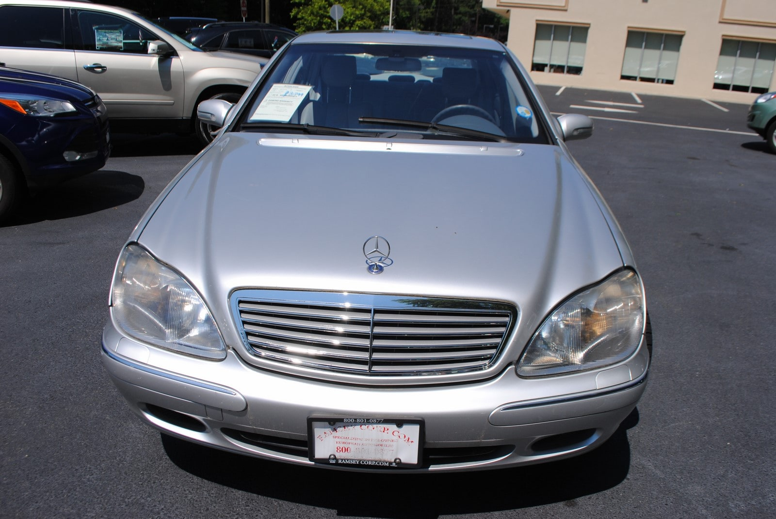 Used 2002 mercedes benz s class for sale west milford nj for Mercedes benz s class 2002