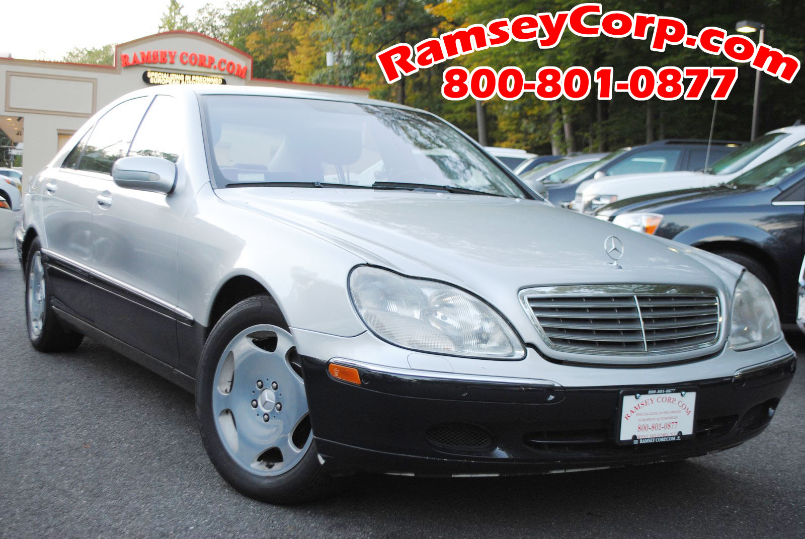 Used 2001 mercedes benz s class for sale west milford nj for Mercedes benz s class 2001