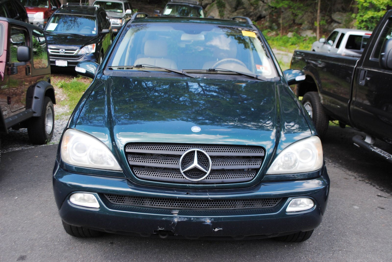 Used 2003 mercedes benz m class for sale west milford nj for 2003 mercedes benz suv