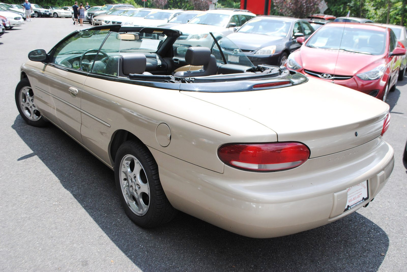 used 1999 chrysler sebring for sale west milford nj. Black Bedroom Furniture Sets. Home Design Ideas