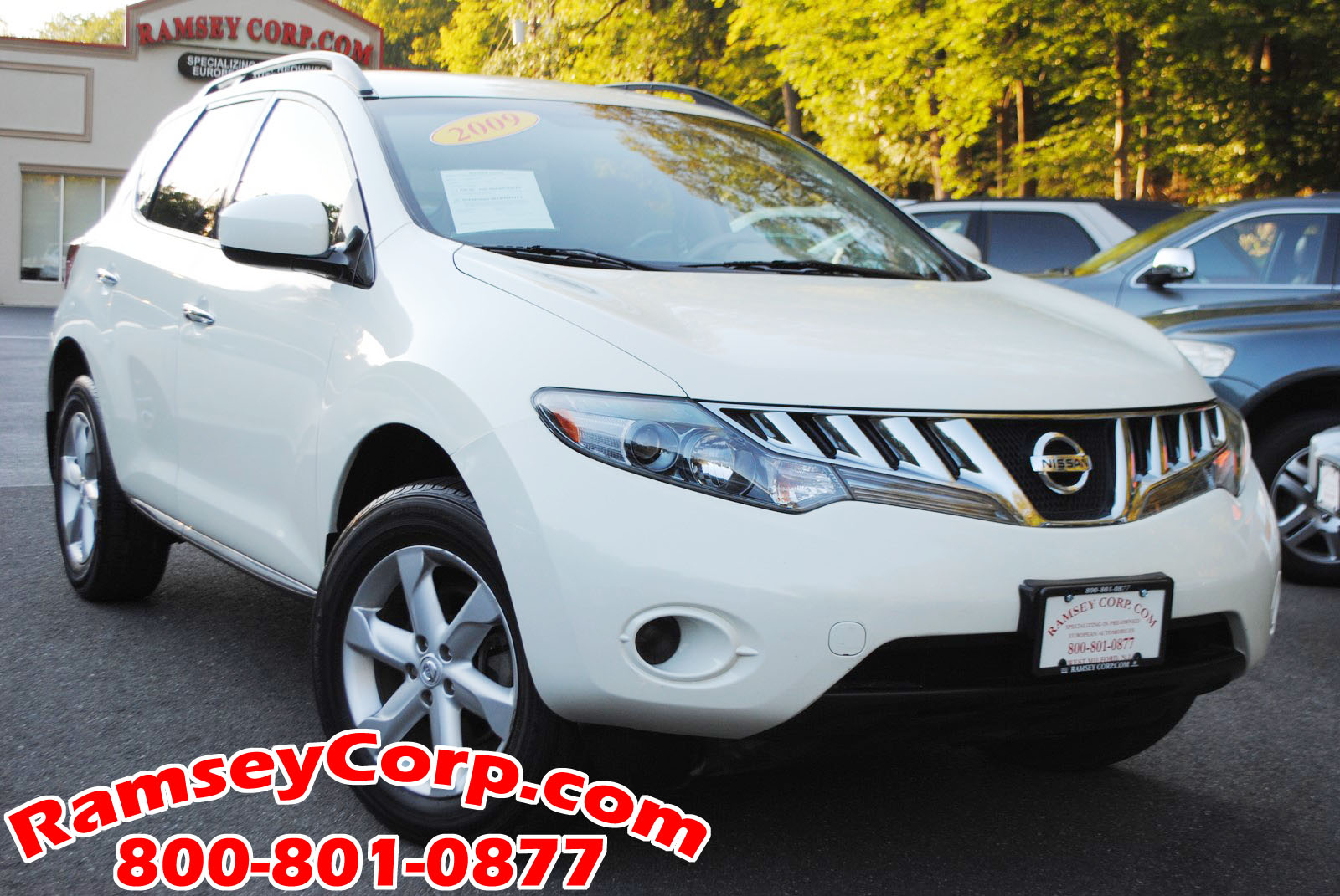 Used 2009 nissan murano for sale west milford nj 2009 nissan murano s 35 suv vanachro Image collections