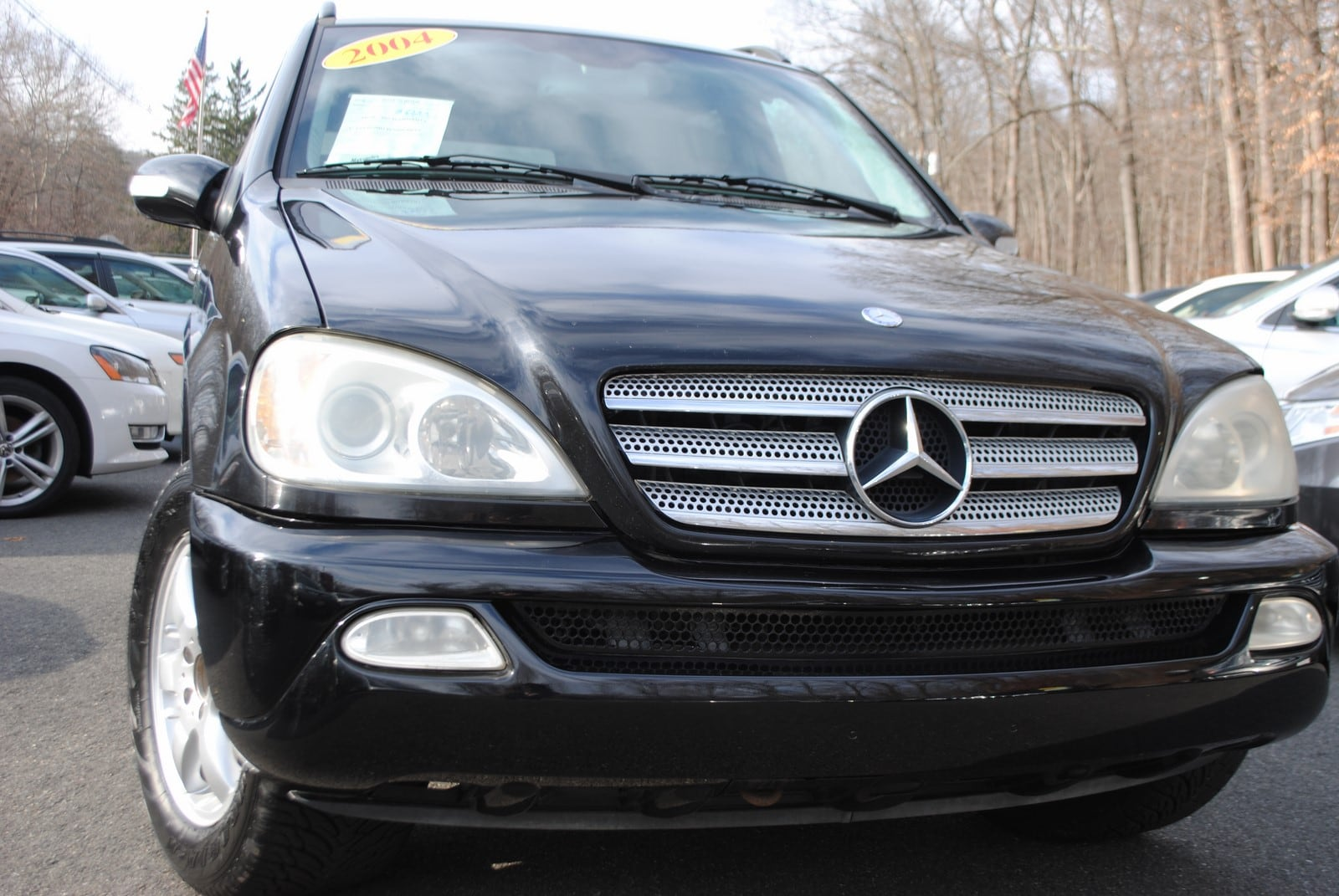 Used 2004 mercedes benz m class for sale west milford nj for 2004 mercedes benz m class
