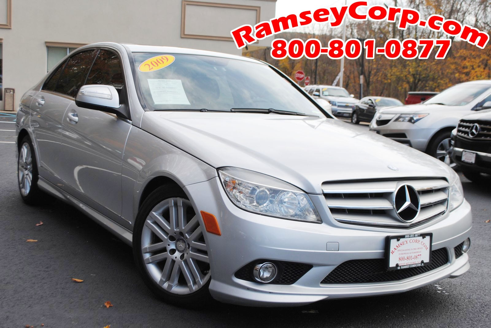used 2009 mercedes benz c class for sale west milford nj. Black Bedroom Furniture Sets. Home Design Ideas