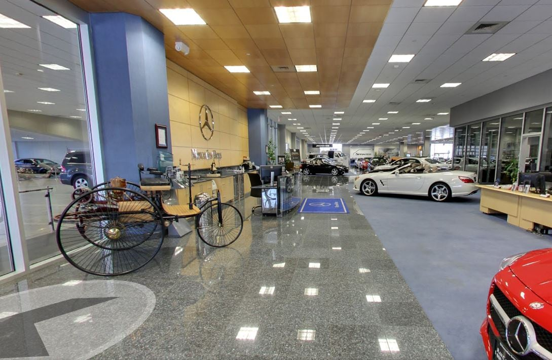New and used mercedes benz dealer union ray catena share for Motor vehicle nj freehold