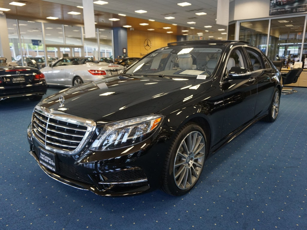 Used 2014 mercedes benz s class sedan black for sale in for Mercedes benz service union nj