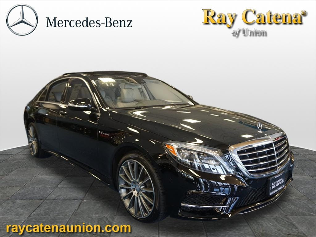 Used 2014 mercedes benz s class sedan black for sale in for Mercedes benz of edison