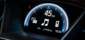 honda dashboard light