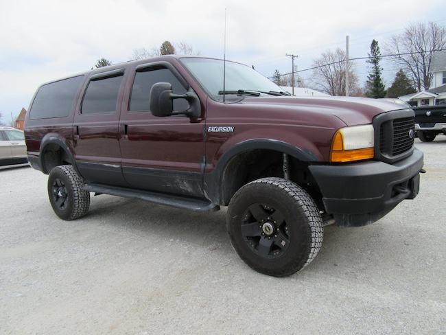 Used 2000 Ford Excursion Limited Limited SUV For Sale North Baltimore, Ohio