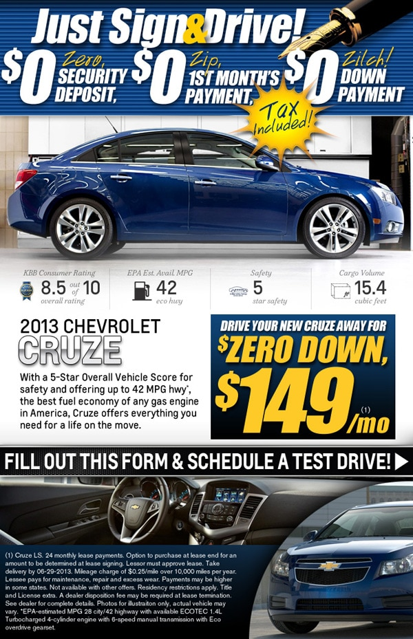 2013 Chevy Cruze At The Big Lot In Springfield MO